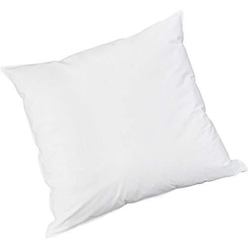 Badenia Bettcomfort Kopfkissen Trendline Comfort mit Baumwollbezug, 40 x 40 cm, weiß