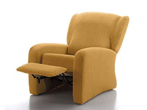 CAÑETE - Funda sillón Relax JARA - Color Mostaza
