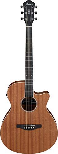 Ibanez AEG Series Akustik/Elektrische-Gitarre 6 String - Open Pore Natural (AEG7MH-OPN)