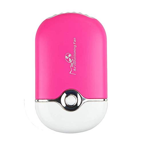 YXDS Ventilador Aire Acondicionado de Escritorio portátil 400 mAh Batería de Litio Humidificación Enfriador Ventilador de enfriamiento Recargable USB