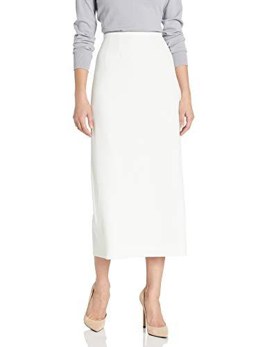 Kasper Women's Stretch Crepe Column Skirt, Vanilla Ice, 10