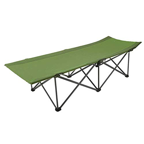 AI LI WEI Thuis buiten/opklapbed Camping Nappende Stoel Kantoor Huishoudelijke Bed Versterkte Outdoor Draagbaar Kamp Bed Geen Ruimte