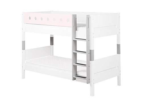 FLEXA White Umbausatz für Etagenbett gerade Leiter und Pfosten 80-17410-40