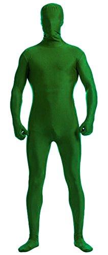 Howriis, Ganzkörper-Lycra-Spandex-Anzug für Erwachsene und Kinder, unisex Gr. M, grün