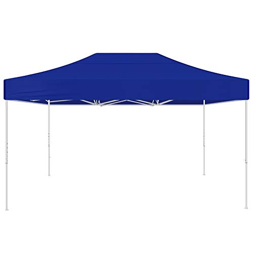 AMERICAN PHOENIX Canopy Tent 10x10 Easy Pop Up Party Canopies Folding Sun-shelter Sunshade with Removable Sidewalls (Blue-10x15)