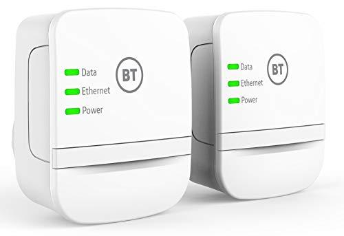 BT Broadband Extender 600 Kit with wired AV600 Powerline