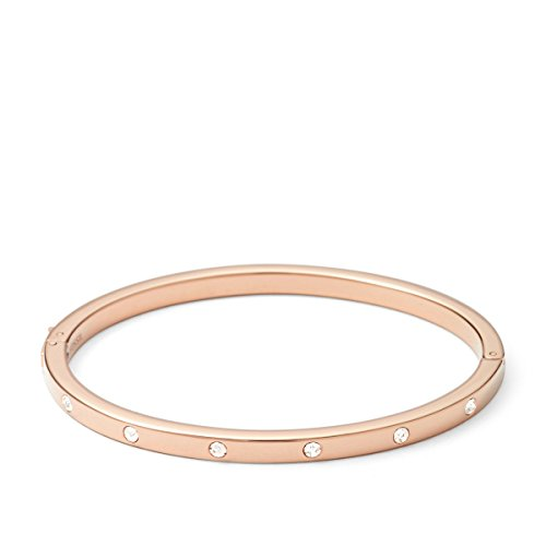 FOSSIL Damen-Armbänder & Armreifen Edelstahl Rundschliff Oxyde de Zirconium