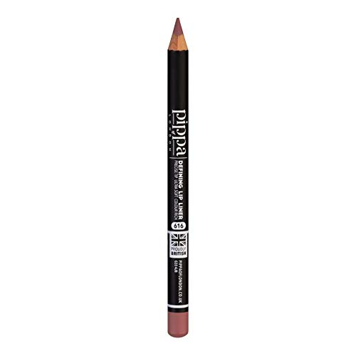 Pippa of London Defining Lipliner-Stift - Weicher Lipliner für Lippenkonturen - Farbintensive Lippen matt - Lippengrundierung für Lippenstift (Antinoe - 616)