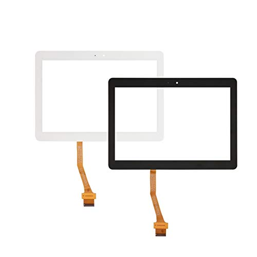 Kit de repuesto de pantalla de 10,1 pulgadas, compatible con Samsung Galaxy Tab 2 P5100 P5110 N8000 N8010, kit de reparación de pantalla táctil (color: negro)