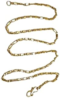 Kuber @ Gold Plated Chain Daily use for Men/ Women's