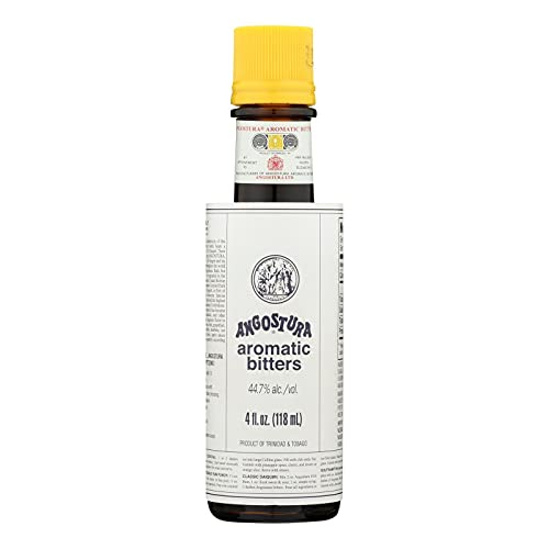 Angostura Aromatic Bitters, 4-ounce Bottles (Pack of 12)