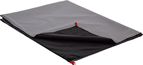 High Peak Decke Outdoor Blanket, grau/Schwarz, 150 x 120 cm