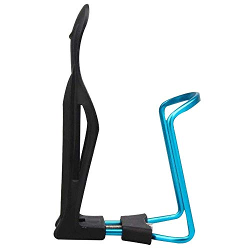 Samtlan Vélo Eau Bouteille Support Rack Support Vélo Eau Bouteille Cage Léger Réglable Aluminium Alliage pour VTT Plastique Universel Boisson Bouteille Extérieur Activités - Bleu
