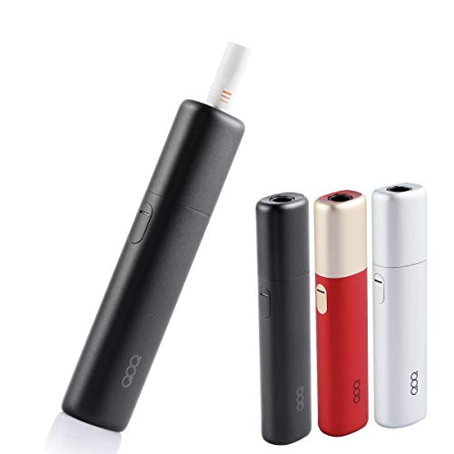 QOQ Smart Sword 加熱式たばこ 互換機 互換 本体 スターターキット 加熱式電子タバコ 電子タバコ 13本連続 吸引 900mAh 温度調整 時間調整 自動クリーニング スマートソード (ブラック)