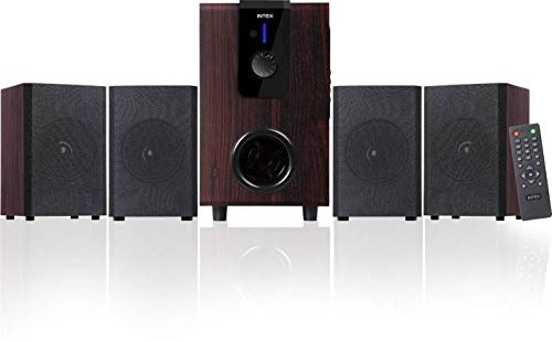 Intex Choral 4.1 Multimedia Speaker with Bluetooth Compatible