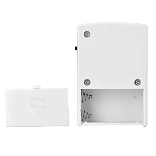 Jacksing Alarma de Seguridad de 120dB, Alarma de Sensor, Alarma táctil de Ventana pequeña y portátil para el hogar