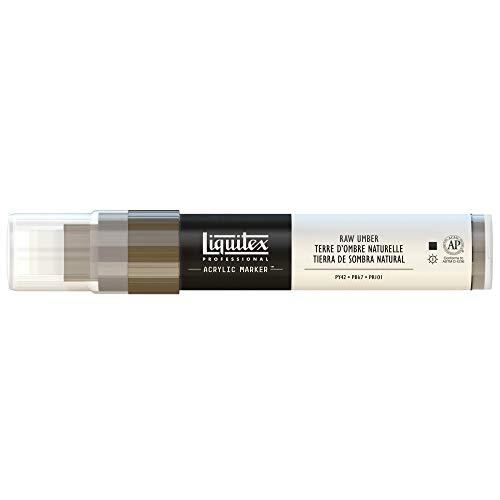 Liquitex Professional Paint Acryl - Marker Acrylfarbe, Umra Natur, Acrylmarker 8-15 mm Spitze