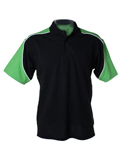 FORMULA RACING - Polo - Homme - Multicolore - Black/Lime/White - petit