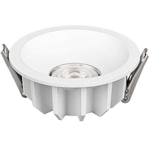 Lámpara de Techo empotrable de Downlight LED, 3000K / 3500K / 4000K 110-220V Lámpara de Panel Redonda - Impermeable para Sala de Estar Dormitorio Baño Cocina [Clase de energía A ++]
