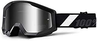 100 Percent 50410-166-02 Strata Goggle Goliath Mirror Lens, Black,Mirror Silver