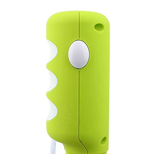 Batidora, Mini batidora de Huevos eléctrica, batidora de Mano eléctrica Antideslizante, para el hogar de la Cocina(Green Fingernails Spray White, Pink)