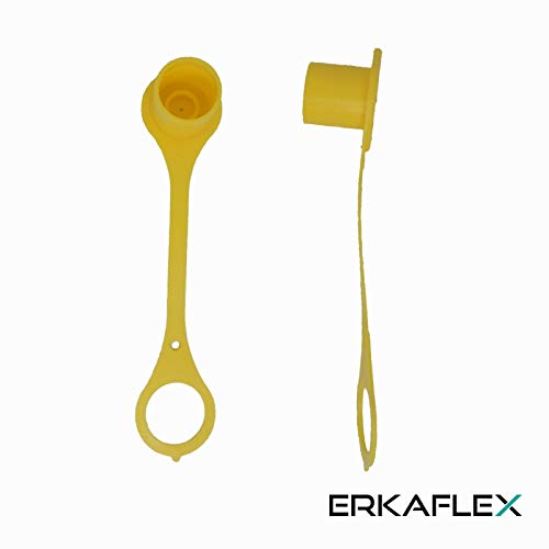 Hydraulik Staubschutz Staubkappe für Standardstecker Baugröße 3 Gelb