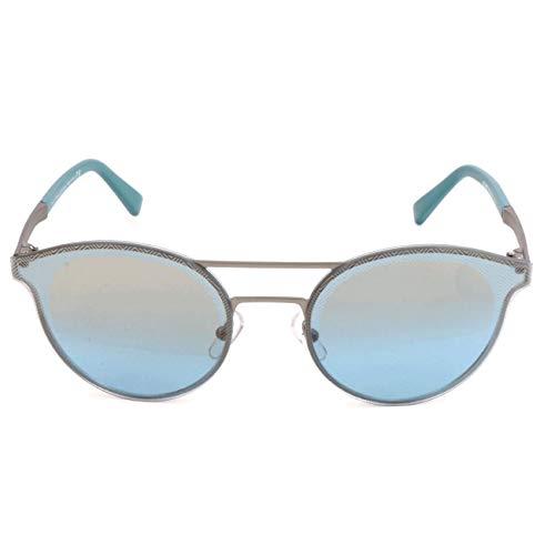 Ermenegildo Zegna Sonnenbrille EZ0085 Gafas de sol, Plateado (Silver), 60.0 para Hombre