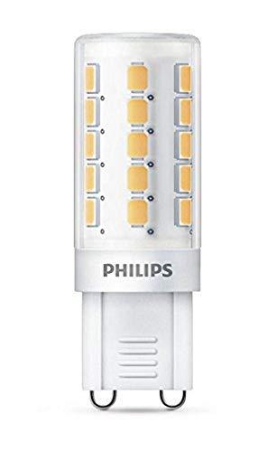 Philips bombilla LED reflectora casquillo G9, 1.9 W equivalentes a 25 W en incandescencia, 204 lúmenes, luz blanca cálida