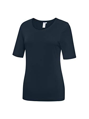 Joy Sportswear Vivienne T-Shirt für Damen aus Baumwolle, bequemes Sportshirt mit verlängertem Kurzarmschnitt als Perfekter Begleiter für Training und Freizeit 36, Night