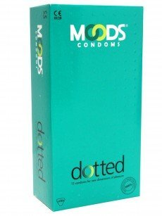 Moods Dotted Condoms 12's Pack x 5