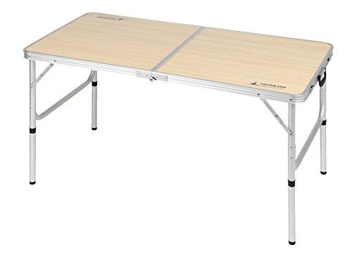 キャプテンスタッグ(CAPTAIN STAG) テーブル ジャスト サイズ ラウンジ チェア で食事がしやすい テーブル M UC-516