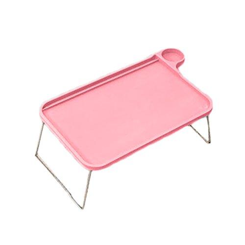 bismarckbeer Sofa-Tablett, Bett-Tisch, mit klappbaren Beinen, Laptop, Frühstück, Bett-Tablett, zum Essen, Lernen