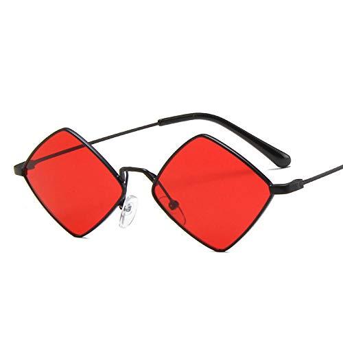 Powzz ornament Chic Small Vintage Sunglasss Mujeres Hombres 2021 Lujo Aleación Espejo Gafas de sol Hombres Tonos irregulares Oculos Feminino-2_Universal