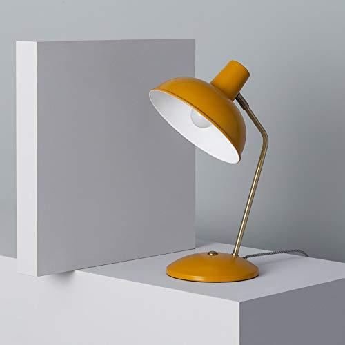 LEDKIA LIGHTING Lampada da Tavolo Funelli Mostarda