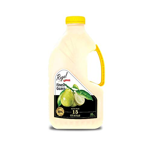 Regal Bakery White Guava Juice 2L - Source of Antioxidants & Vitamins | Summer Drinks | Healthy Drinks On The Go - Healthy & Nutritious - Ready to Sip Juices | Energy Drink