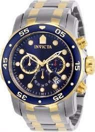 Invicta Pro Diver Scuba 0077-48 Mm Duocolor Original Thirs