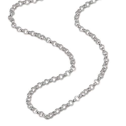 Teenie-Weenie Halskette silber Kinder Echt Halsschmuck 38cm 925 Silber SDK01338