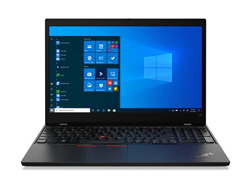 Lenovo ThinkPad L15 Gen 1 - Ordenador Portátil 15.6 FullHD (Intel Core i7-10510U, 16GB RAM, 512GB SSD, Intel UHD Graphics, Windows 10 Pro), Negro - Teclado QWERTY Español