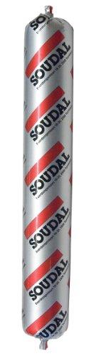 Soudal Soudaseal 215LM, Dichtungsmasse auf Basis von Hybrid - Polymer für Hochbaudehnungsfugen, Beutel 600ml (betongrau)