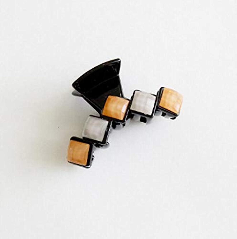 縮れたワードローブアミューズHuaQingPiJu-JP 1Pc DIYマジックヘア女性の女の子ヘアピンヘアクリップディナーパーティーヘアスタイルツールアクセサリー(オレンジ)