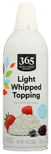 365 Everyday Value, Real Dairy Whipped Cream, 7 oz