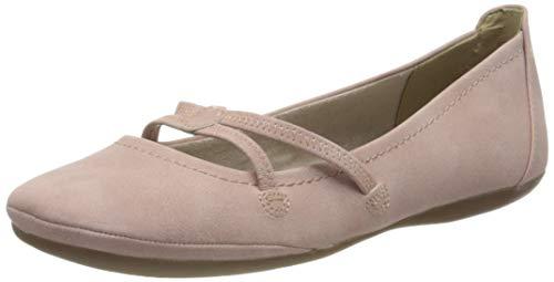 Tamaris Damen 1-1-22110-24 Geschlossene Ballerinas, Pink (Rose 521), 36 EU