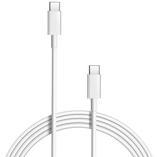 MacBook Pro Charging Cable, 100W Replacement USB-C to Type-C Fast Charger Cord Compatible with MacBook Pro 16 Inch 15 Inch MacBook Air 13 Inch iPad Pro 3A Fast Charging