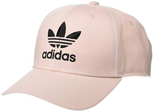 adidas Originals Herren Trefoil Strukturierte Preurve Cap, Herren, Mütze, Originals Trefoil Structured Precurve, Icey Pink/Schwarz, Einheitsgröße