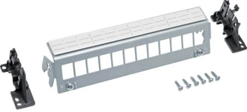 Hager FZ12MK Patch-Panel 12-fach, Keystone