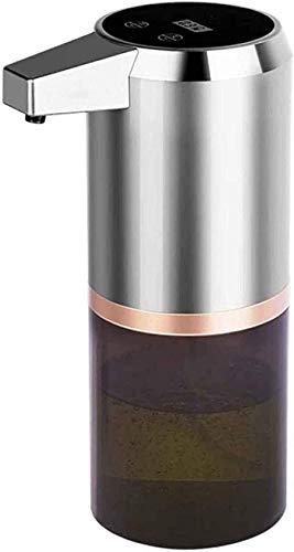 Yvelife Dispensador de jabón con Sensor automático Pantalla LED Carga USB Recargable Dispensador...