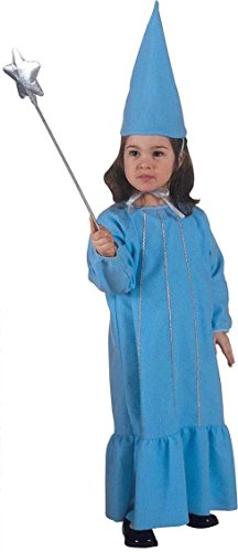 Ladies Little Fairy Pink/Blue Costume for Fairytale Fancy Dress