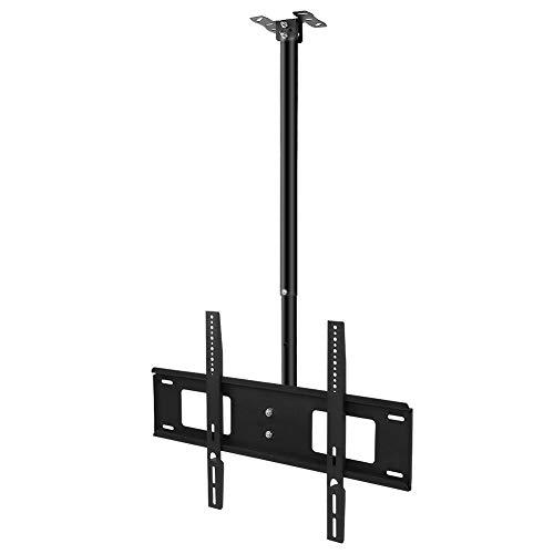 Dioche TV-Deckenhalterung für Fernseher, neigbar, für Flachbildschirme von 32 bis 63 Zoll, neigbar, für LED/LCD