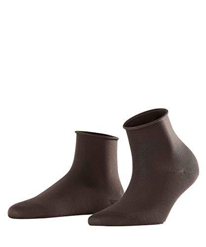 FALKE Cotton Touch Short W ShS Chaussettes, Gris (Anthracite 3529), 35-38 (UK 2.5-5 Ι US 5-7.5) Femme