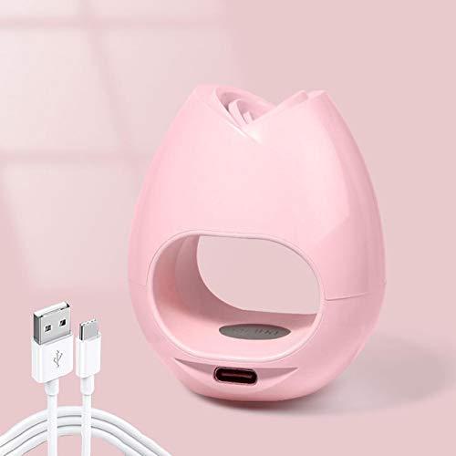 Secador de uñas Rose Shape16W Gel Esmalte de uñas LED Lámpara de uñas Forma de rosa Fuente de luz dual LED U V lámpara de uñas para esmaltes de geles en casa y salón